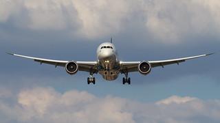 Oman Air 787 Dreamliner.