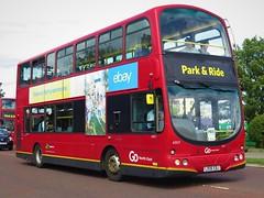 Go North East 6907 (LX06EBJ) - 28-07-18 (peter_b2008) Tags: goaheadgroup gonortheast goaheadlondon londoncentral volvo b7tl wright eclipsegemini wvl258 6907 lx06ebj sunderland buses coaches transport buspictures