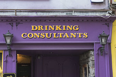 A very Irish business! (Frank Fullard) Tags: frankfullard fullard street pub bar drink alcohol lol fun consultant business beer guinness whiskey tralee kerry irish ireland pubsign sign
