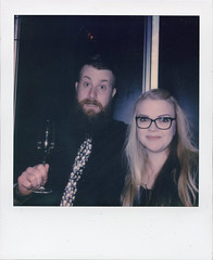 New Year V (Magnus Bergström) Tags: polaroid polaroid680slr polaroidoriginals polaroidslr680 instant film instantfilm karlstad sweden sverige värmland wermland color portrait party matpen00 reband00