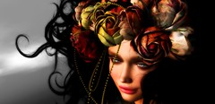 If you don't know me (AmberWild) Tags: flower colour wild dream wistful woman fantasy fashion edgy