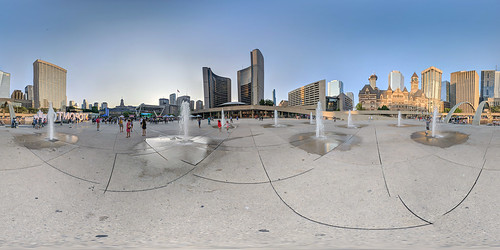 Toronto City Hall Square 360°