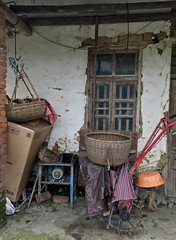 Find The Chicken (cowyeow) Tags: house farmhouse chicken poultry farm travel hunan nature china composition chinese asia asian rural tools mess basket window derelict