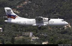 Sky Express ATR 42-500 SX-FOR @ Skiathos Airport (LGSK/JSI) (Joshua_Risker) Tags: skiathos airport lgsk jsi greece sky express skyexpress atr atr42 42500 sxfor