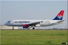 Airbus A320-232, Air SERBIA, YU-APG (OlivierBo35) Tags: spotting roissy spotter cdg lfpg airbus a320 airserbia serbie
