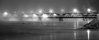 Fog over Saguenay river / Brume sur le Saguenay