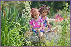 Sanrike und Milina ... (Kindergartenkinder 2018) Tags: milina sanrike kindergartenkinder rosengarten seppenrade