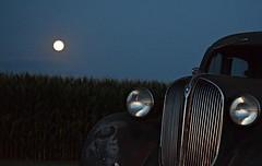 Blood Moon and the 38 (David Sebben) Tags: blood moon abandoned plymouth sedan automobile henry illinois