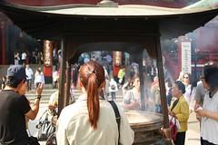 Senso-Ji, Asakusa, Tokyo   Distagon 28mm F 2.8 (情事針寸II) Tags: streetshot 東京 浅草 浅草寺 people tokyo temple asakusa distagon28mmf28