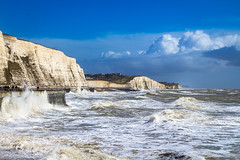 Rottingdean-sussex-uk (suxxesphoto) Tags: 2016 sussex southeast england cliffs waves rottingdean