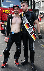 Mr Leather Germany and Mr Leather Berlin (ulo2007) Tags: gay lesbian gaypride berlin csd christopherstreetdayparade parades leather fetish
