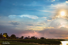 Hooking The Moon (Striking Photography by Bo Insogna) Tags: storms thunderstorms severethunderstorms clouds scenic travel views overlook coloradonaturelandscapes nature landscapes lightning sky monsoon extremeweather bouldercounty colorado jamesinsogna photography longmont unitedstates farms farming agriculture