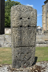 Pictish carved stone, Elgin Cathedral (robin.croft) Tags: elgin cathedral ruins scotland