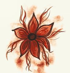 Flower #sketch #hauora (easegill) Tags: ifttt instagram