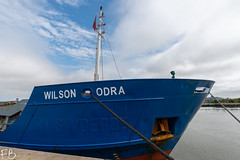 Wilson Odra (frisiabonn) Tags: vehicle ship water wirral liverpool england uk britain marine vessel river mersey merseyside sea shore waterfront maritime boat outdoor birkenhead wilson odra cargo docks harbour alfred rms voerde