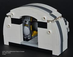 Star Wars LEGO 75512 Millennium Falcon Cockpit (KatanaZ) Tags: starwars lego75512 millenniumfalconcockpit soloastarwarsstory hansolo chewbacca lego minifigures minifigs sdcc2018 exclusive