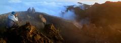 In the Clouds / En las Nubes (López Pablo) Tags: cloud mountain panorama people la palma canary islands spain nikon d90