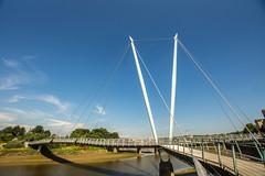 Millenium Bridge (Gary S Bond) Tags: great britain united kingdom 2018 a65 alpha city england historic july lancashire lancaster north shabbagaz sony summer uk west greatbritain unitedkingdom