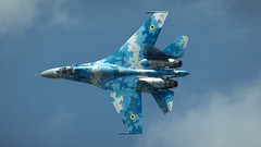 Su-27PM1 (kamil_olszowy) Tags: su27pm1 sukhoi fighter flanker ukraine air force riat 831s brigade tactical aviation сухой су27пм1