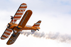DSC_9515 copy (quintinsmith_ip) Tags: aerosuperbatics flyingcircus 'superstearmans stearmans plane formation flight smoke smoking orange white wingwalkers sunderland 2018