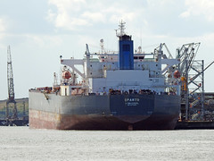 DSCN2226 (Darren B. Hillman) Tags: tanker tranmerenorthoiljetty lightcrude ships rivermersey nikon p900 priorywharf birkenhead wirral