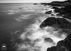 Slow Motion Breaking Waves (allentimothy1947) Tags: california carmel monetereycounty ndfilter us1 landscape monterey ocean pointlobospark rocks slow statepark tripod wavers waves pacificocean mist motion blackandwhite bw