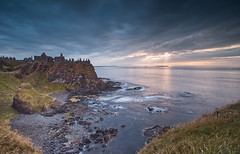 Dunluce Castle - Northern Ireland (captures.in.time) Tags: seascape sea pier castle northernireland northern landscape travel atlantic sunset wonderlust travelphotography photography