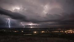 Orage du 12.08.2018 (toper33) Tags: orage storm éclair lightning ciel cloud pluie rain nuit night ramifié ville