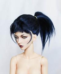 Ready wig for sale (SophyMolly) Tags: abjd balljoineddoll bjd wig sale adoption discount etsy sophymolly angora custom customdoll