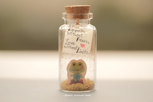Dream Without Fears Tiny Message In A Bottleminiaturepersonalised