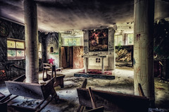 Sacrilegium....abandoned hospital (lucino66) Tags: urbex decay abandoned hospital fragilimemoriecom lucapucci italy indoor