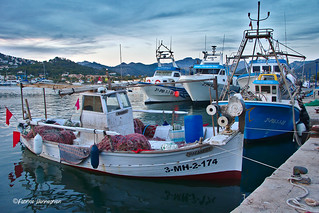 Fishingboats ready for another seatrip @ Port Andratx
