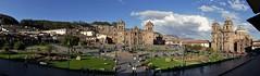 Blick auf Cusco (marionkaminski) Tags: peru südamerika southamerica lateinamerika cusco stadt inkastadt historico altestadt kirche church iglesia platz placa place panasonic lumixfz1000 panoramaaufnahme panorama