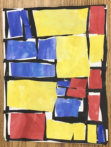 "Every year I get new favorites with this #kindergarten #pietmondrian  inspired painted paper gridded #collage ❤️❤️  They have such an amazing lyricism at this age that I admire so much. Want em all! • <a style=""font-size:0.8em;"" href=""http://www.flickr.com/photos/57802765@N07/43177789044/"" target=""_blank"">View on Flickr</a>"