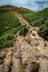 Which is harder? Up or down?! (gabormatesz) Tags: southlakelanddistrict england unitedkingdom gb canon canon80d 1018mm wideangle landscape landscapes hiking touristroute nature naturephotography photography