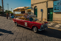 Going topless on Capri...... (Dafydd Penguin) Tags: going topless model capri convertible car auto fiat unique mod modification body taxi road motor island naples bay italy mediterranean street shot leica m10 elmarit 21mm f28