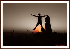 Equilibrio e meditazone (chiodinoivan) Tags: yoga hatayoga yogakundalini prana beautiful goodvibes yogi zen picoftheday love asana sigmasd14 sigma1770 sigma foveon art photo exsposure sky silouette meditazione olistico