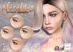 WarPaint* @ Mermaid Cove (Mafalda Hienrichs) Tags: warpaint war paint mermaid cove event secondlife applier catwa omega makeup highlighter scales irridescent release bento