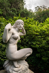 Hidden Away (dayman1776) Tags: brookgreen gardens south carolina myrtle beach sony a6000 sculpture statue nude female form naked beautiful sensual breast breasts marble escultura skulptur
