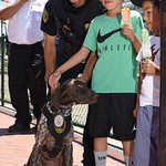 Inspector R Berg with Kids and Dog thumbnail