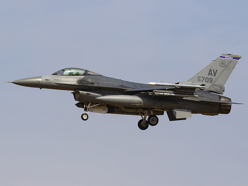 United States Air Force   General Dynamics F-16CM Fighting Falcon   90-0709