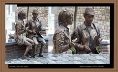 Province du Luxembourg, Marche en Famenne (chatka2004) Tags: statuesenmarche enmarche provinceduluxembourg rassemblementdestatuesvivantes marcheenfamenne statues lestouristes