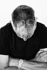 Incognito (glukorizon) Tags: 52weeksof2018 arm blackandwhite bril glasses haar hand head hoofd horloge jewelry luc monochrome monochroom selfie sieraad watch whoareyou zelfportret zwartwit