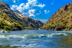 Beautiful Hells Canyon (http://fineartamerica.com/profiles/robert-bales.ht) Tags: aupload fahellscanyon fb facebook forupload haybales hellscanyontrip hillcanyon idaho people photo photouploads places projects states nature canyon landscape recreation river wilderness area remote mountain america usa wild white hell oregon green range vacation scene outdoors scenic hells hiking tourism water salmon blue snake desert eastern fishing fly outdoor riggins rock rugged nez trout beauty steelhead conservation clouds devils tourist gorge mountains washington snakeriver hellscanyon robertbales boat jetboat rapids mixedmedia shoreline