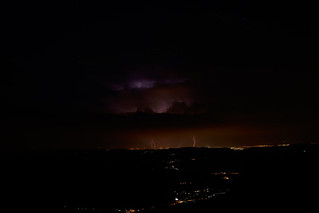 Blitze über Wien