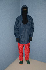 Rainwear (Warm Clothes Fetish) Tags: torture girl hot warm sweat niqab hijab slave rainwear boots