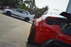 Mitsubishi Lancer Evolution 9, Toyota GT86 (Edrian1011) Tags: stance pilipinas manila fitted carmeet carshow jdm jdmcars mitsubishi mitsubishilancerevo lancerevo lancerevolution toyota toyota86