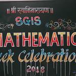 01 Maths Week Celebration