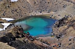 Emerald lake. (Lucie Kratz) Tags: emeraldlakes tongariro tongariroalpincrossing volcano nationalpark newzealand unesco