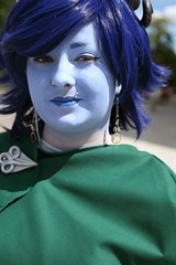 Jester - Close Up (NekoJoe) Tags: amecon amecon2018 ame ame2018 animeconvention cleric convention cosplay cosplayer coventry criticalrole england gb gbr geo:lat=5237916702 geo:lon=156095713 geotagged jester jesterlavorre midlands tiefling uk unitedkingdom warwickartscentre